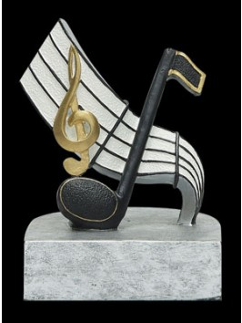 Estatuilla Clave Musical de 4""