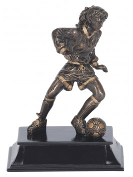 Estatuilla Action Sport Futbol Fem.