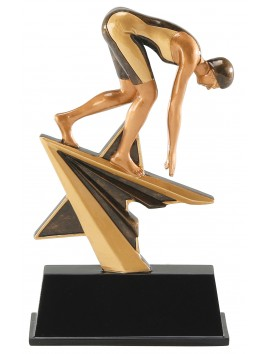 Estatuilla Star Power Natacion Fem.